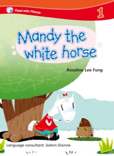 Mandy the White Horse