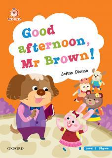 Good afternoon, Mr.Brown